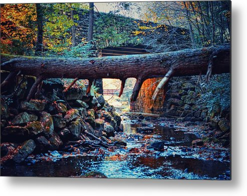 Bridge Metal Print featuring the photograph Three Bridges by Shelley Smith