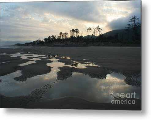 Oregon Metal Print featuring the photograph Tidepools At Dawn by Idaho Scenic Images Linda Lantzy