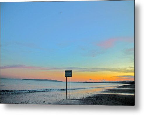 Donabate Beach Metal Print featuring the photograph Time Between Times by Martina Fagan