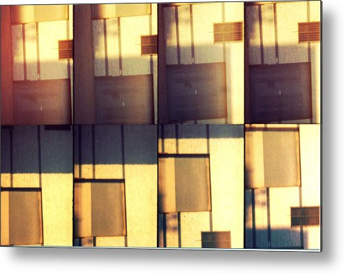 Abstract Metal Print featuring the photograph Times Eight by Graphics Metropolis