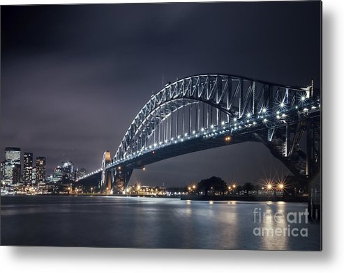 Kremsdorf Metal Print featuring the photograph To Run With The Darkness by Evelina Kremsdorf