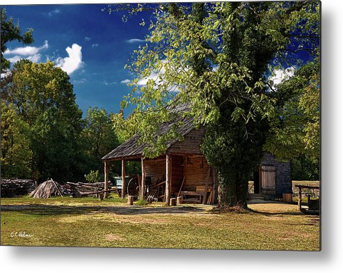 Barn Metal Print featuring the photograph Tobacco Barn by Christopher Holmes