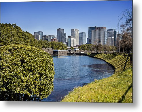 Tokyo Metal Print featuring the photograph Tokyo From The Palace by Sujith Gopinath