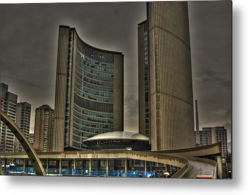 Rcouper Metal Print featuring the photograph Toronto City Hall by Rick Couper