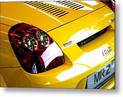 Photographer Metal Print featuring the photograph Toyota 16 by Jez C Self