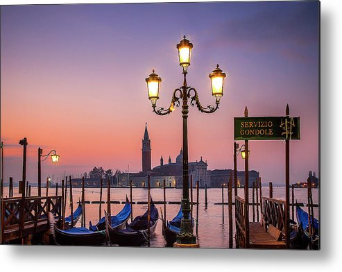Venice Metal Print featuring the photograph Tranquil Venice by Andrew Soundarajan