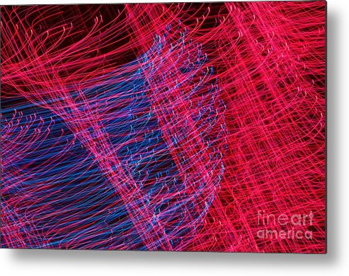 Light Metal Print featuring the photograph Twist by Hideaki Sakurai