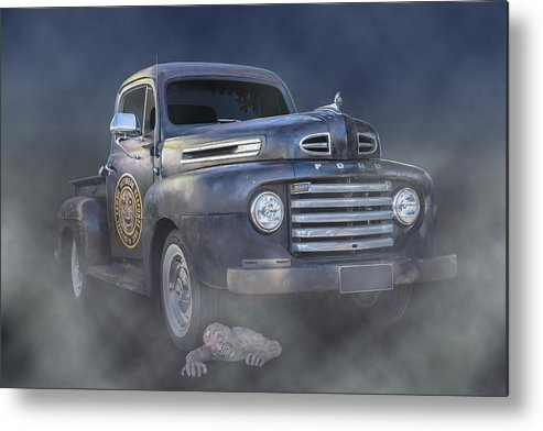 Pickup Metal Print featuring the photograph Undead by Keith Hawley