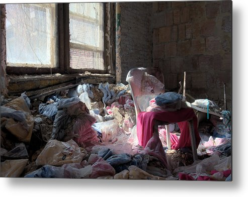 Abandonment Metal Print featuring the photograph Uniformity by Kevin Brett
