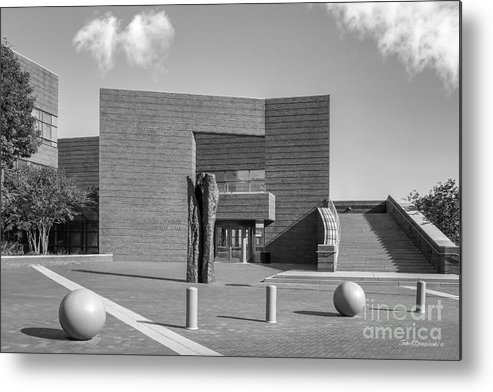 American Metal Print featuring the photograph University Of Cincinnati Mary Emery Hall by University Icons