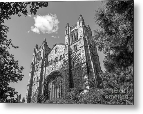 Ann Arbor Metal Print featuring the photograph University Of Michigan Law Library by University Icons