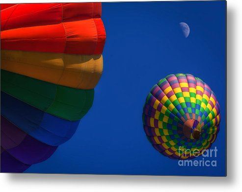 Air Metal Print featuring the photograph Up, Up, And Away by Will Moneymaker