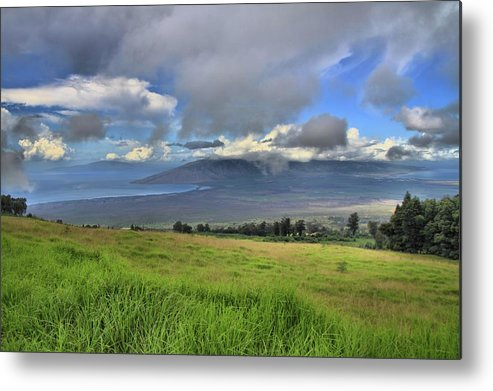 Maui Metal Print featuring the photograph Upcountry Maui by DJ Florek