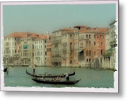 Venice Metal Print featuring the photograph Venetian Highway by Lynn Andrews