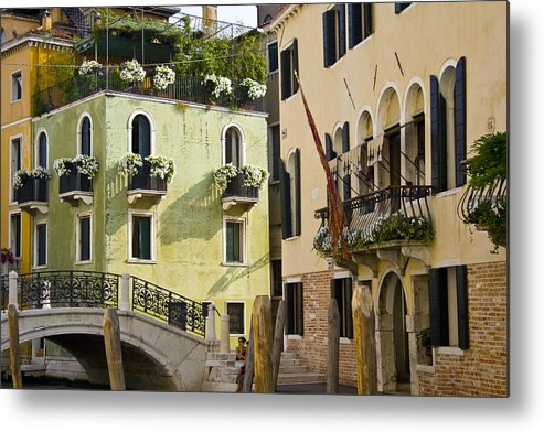 Venice Metal Print featuring the photograph Venice 4 by Caylena Cahill
