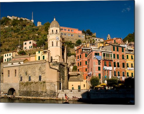 Italy Metal Print featuring the photograph Vernazza by Carl Jackson