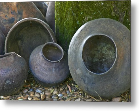 Vessels Metal Print featuring the photograph Vessels by Brian Marsh