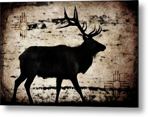 Wapiti Metal Print featuring the photograph Wapiti by Garett Gabriel