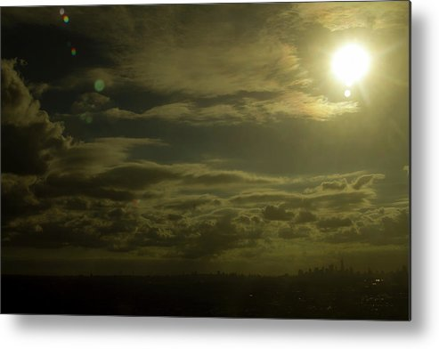 Landscape Metal Print featuring the photograph Warm Rhapsody by Skyler Whitehead