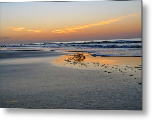 Sand Metal Print featuring the photograph Washed Up by Kay Lovingood