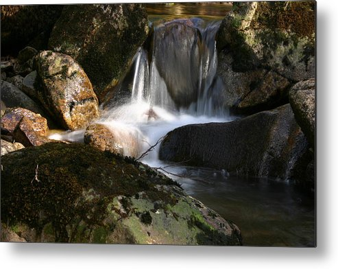 Waterfall Metal Print featuring the photograph Waterfall Glenveagh National Park by Martina Fagan