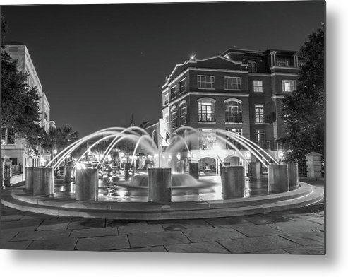 Charleston Metal Print featuring the photograph Waterfront Park # by Tanya Crews