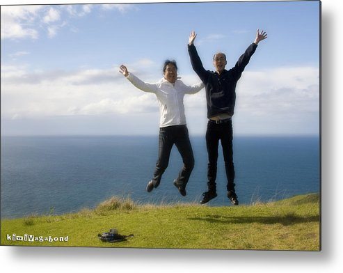 Cape Reinga Metal Print featuring the photograph We Love New Zealand by Graham Hughes