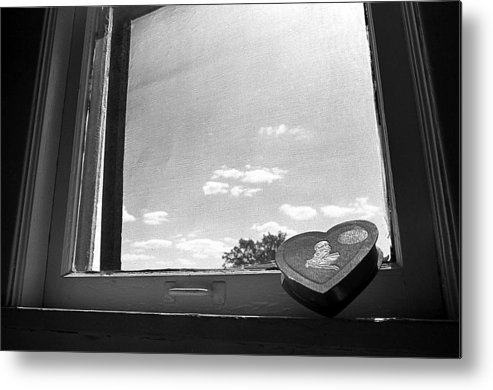 Window Metal Print featuring the photograph What Remains by Ted M Tubbs