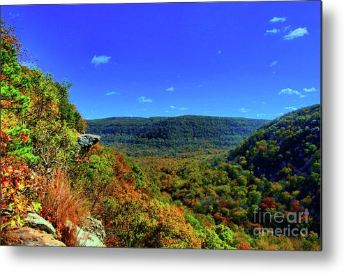 Arkansas Metal Print featuring the photograph Whitaker Point by Kevin Kuchler