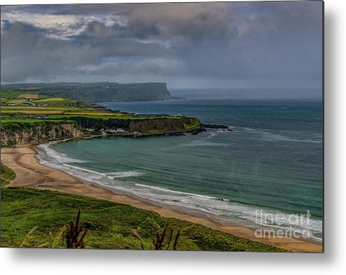 Coast Metal Print featuring the photograph White Park Bay by Elvis Vaughn