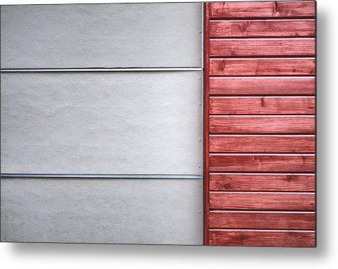 Scott Norris Photography Metal Print featuring the photograph Wide And Narrow Lines by Scott Norris
