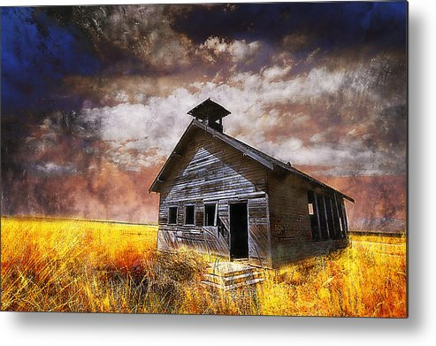 House Metal Print featuring the photograph Will This Be The Way Of Education In The Us by Jeff Burgess