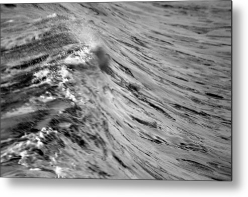 Wave Metal Print featuring the photograph Wind Swept by Brad Scott