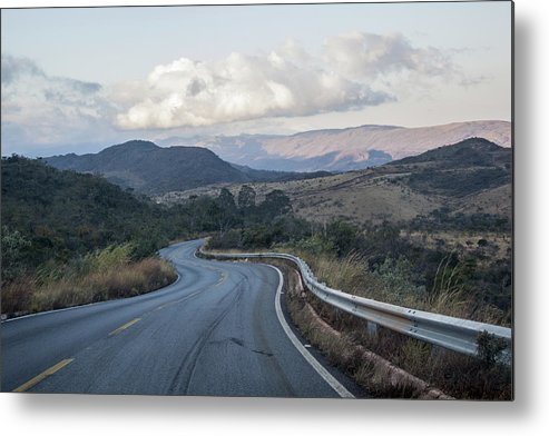 Winding Road Metal Print featuring the photograph Winding Road by James Conway
