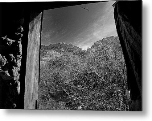 Arizona Desert Photography Metal Print featuring the photograph Window by John Gee