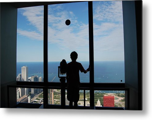 Chicago Metal Print featuring the photograph Window To Discovery by Daniel Ness
