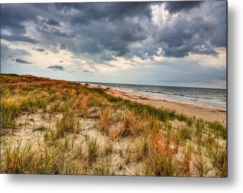 Ocean Metal Print featuring the photograph Windswept by Ches Black