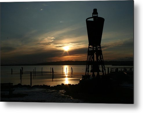 Landscape Metal Print featuring the photograph Winter Dawn by Doug Mills