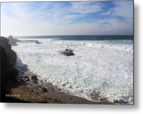 Photography Metal Print featuring the photograph Wonderful Water by Niloofar Ojani