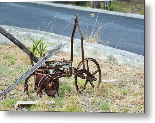 Metal Print featuring the photograph Yard Art 114 by Jeff Downs
