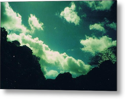 Sky Metal Print featuring the photograph Yon Sky by Anne-Elizabeth Whiteway
