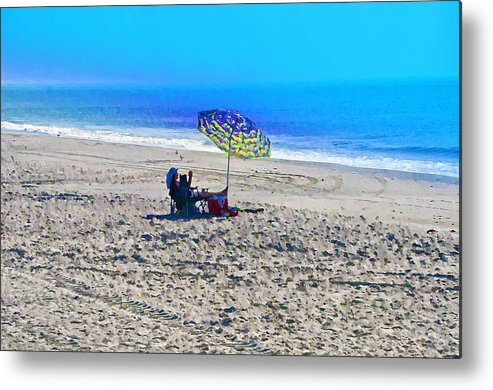 Beach Metal Print featuring the photograph Your Own Private Beach by Bill Cannon
