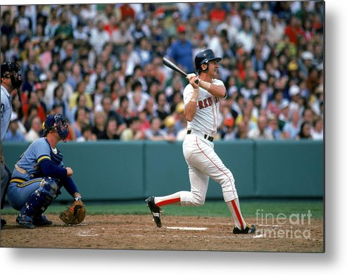 1980-1989 Metal Print featuring the photograph Boston Red Sox 1 by Rich Pilling