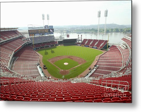 Great American Ball Park Metal Print featuring the photograph Great American Ball Park by Andy Lyons