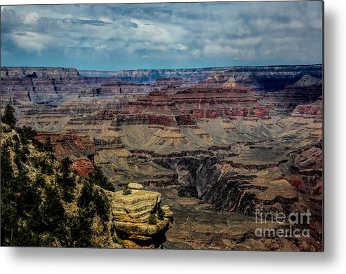 Grand Canyon Metal Print featuring the photograph Landscape Grand Canyon by Chuck Kuhn