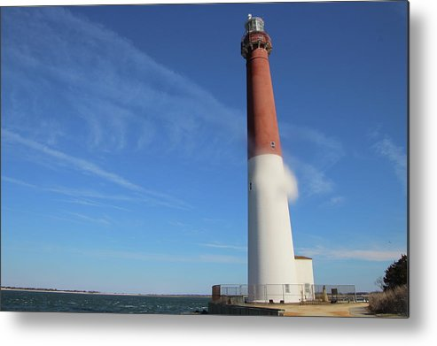 Lighthouse Metal Print featuring the photograph Old Barney by Danielle Gareau