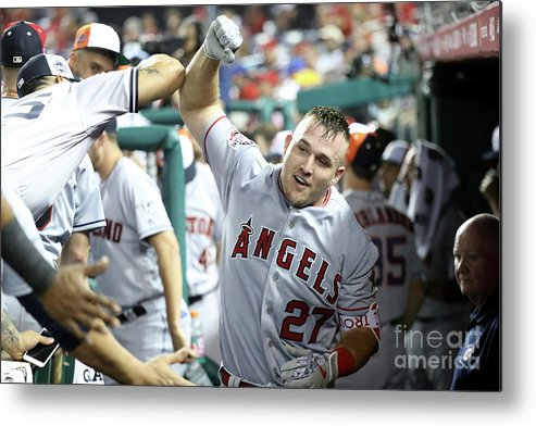 People Metal Print featuring the photograph 89th Mlb All-star Game, Presented By 2 by Rob Carr