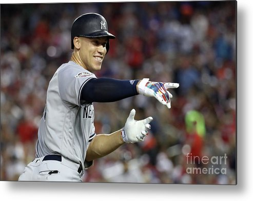 Second Inning Metal Print featuring the photograph 89th Mlb All-star Game, Presented By 3 by Rob Carr