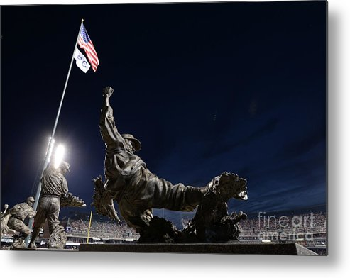 Crowd Metal Print featuring the photograph Chicago White Sox V Detroit Tigers by Mark Cunningham