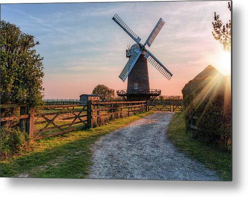 Wilton Metal Print featuring the photograph Wilton Windmill - England by Joana Kruse